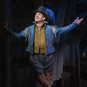 Something Rotten! Brian d'Arcy James: Photo credit Joan Marcus