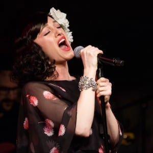 Lena Hall at Cafe Carlyle; Photo by Michael Wilhoite