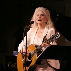 Judy Collins at Cafe Carlyle; Photo credit Mireya Acierto