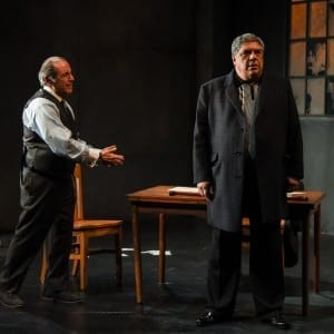 "David Proval and Vincent Pastore in ""Queen for a Day""; Photo By Russ Rowland"