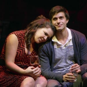 Lindsay Mendez and Gideon Glick. Photo by Joan Marcus.
