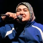 Rohina Malik as Muslim rapper