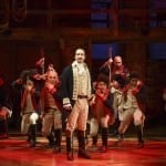 Hamilton1499rR Lin-Manuel Miranda and the company of Hamilton