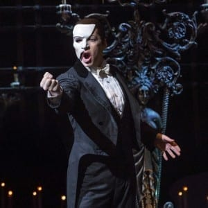 James Barbour as The Phantom; credit Joan Marcus