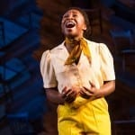 Cynthia Erivo in THE COLOR PURPLE photo by Matthew Murphy