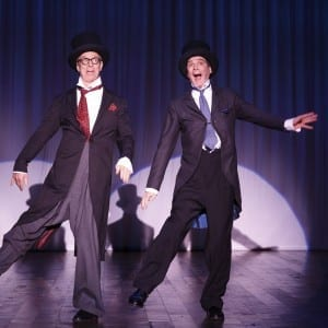 Old Hats: Bill Irwin and David Shiner; Photo by Kevin Berne
