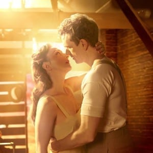 Bright Star: Carmen Cusack and Paul Alexander Nolan. Photo by Nick Stokes