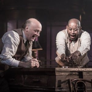 Hughie: Frank Wood and Forest Whitaker - photo by Marc Brenner