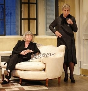 Judith Ivey and Estelle Parsons. Photo by Carol Rosegg