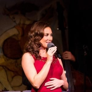 Laura Benanti at Cafe Carlyle. Photo: David Andrako.