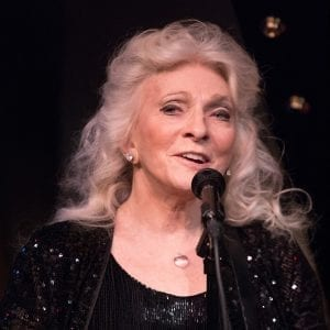 Judy Collins at Cafe Carlyle; photo by David Andrako