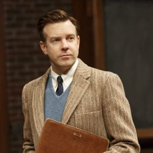 Dead Poets Society- Classic Stage Company: Jason Sudeikis; Photo by Joan Marcus