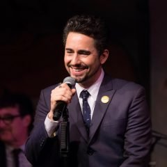 John Lloyd Young at the Cafe Carlyle