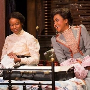 Quincy Tyler Bernstine & Brenda Pressler in Intimate Apparel; photo: T. Charles Erickson