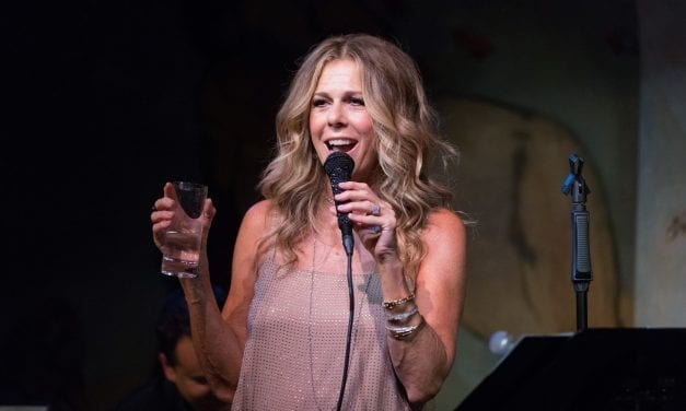 Rita Wilson at the Café Carlyle
