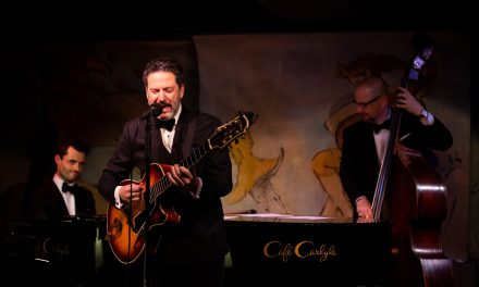 John Pizzarelli Trio at Cafe Carlyle –  For Centennial Reasons: 100 Year Salute to Nat King Cole