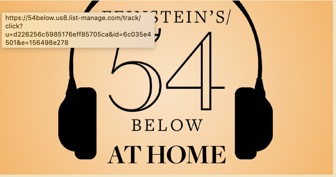 Feinstein's 54/Below TUNE IN
