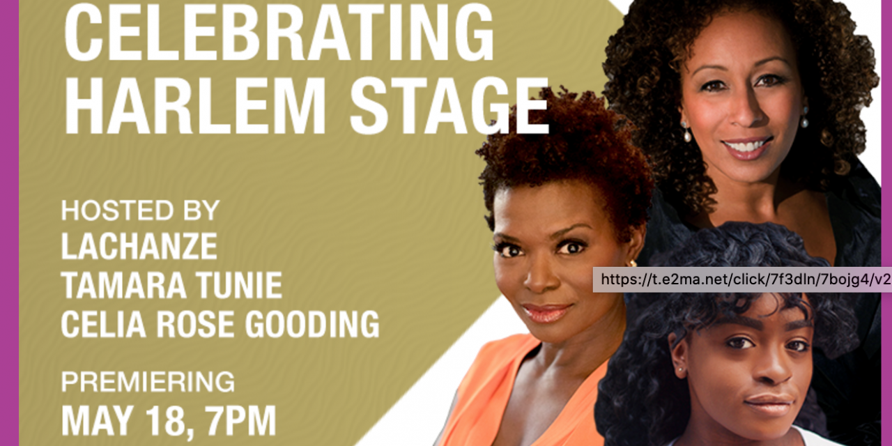 Celebrating Harlem Stage – An Online Gala