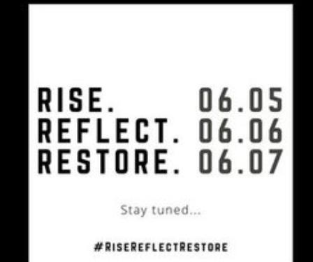 Rise. Reflect. Restore.