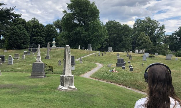 Cairns, a Self-guided Soundwalk for Green-Wood Cemetery
