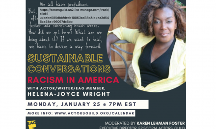 Sustainable Conversations – Helena-Joyce Wright and Episcopal Actors Guild