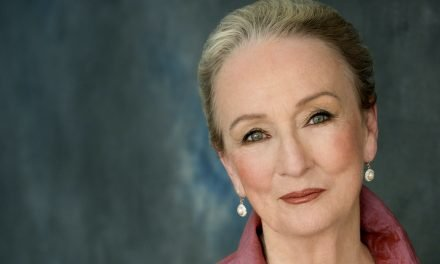 "Happening now at KEEN!  Kathleen Chalfont in ""The Year Of Magical Thinking"""