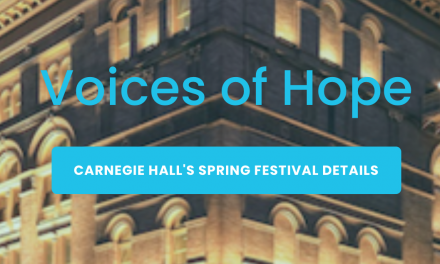 "Carnegie Hall's ""Voices of Hope"""