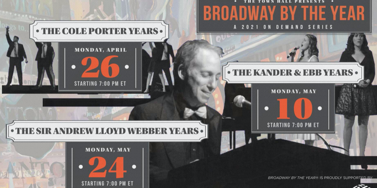 TOWN HALL – Composer John Kander, South African musical artist Majola Ganymede, Broadway songs of Kander & Ebb and Andrew Lloyd Webber and more!