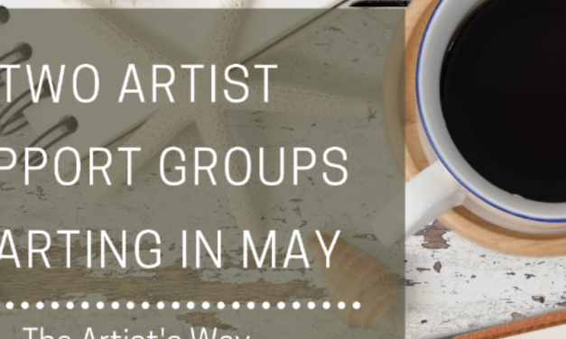 Two Artists' Support groups coming in May